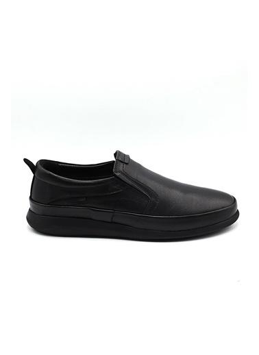 La scada 12213 Sıyah Erkek Loafer Ayakkabı Siyah